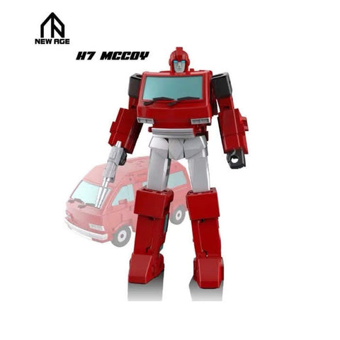 NA NewAge H7 H-7 Mccoy (Ironhide) New Age 8cm / 3""