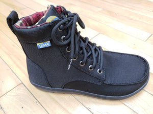 Black Vegan Boulder Boot
