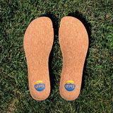 Cork Insoles used in Lems Boulder Boot Mid Canvas