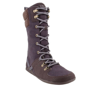 Mika Chocolate Plum Minimal Womens Boot
