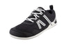 Xero Kid's Minimal Unisex Athletic Shoe Black-White