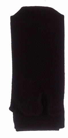 Black Cashmere Tabi Socks Folded