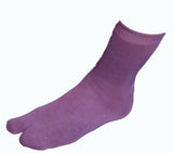Hand-Dyed Tabi Socks - Purple