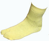 Hand-Dyed Tabi Socks - Yellow