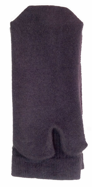 Tall Grey Cashmere Tabi Socks Folded