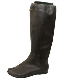One Tall Rubber Tabi Boot