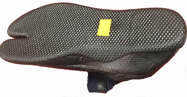 Bottom Sole of Short Rubber Tabi Boot