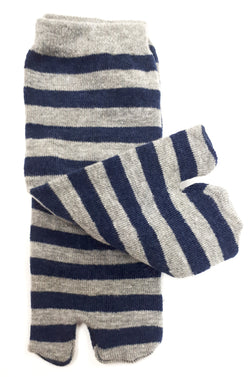 Cute-Striped-Child's-Tabi-Socks