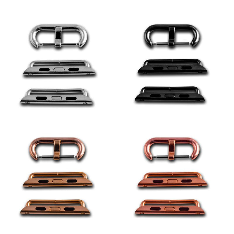 Tang buckle and adapters for Apple Iwatch straps
