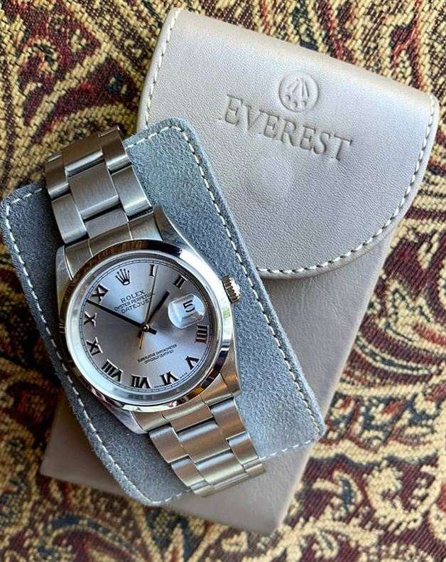 Everest Leather Watch Pouch