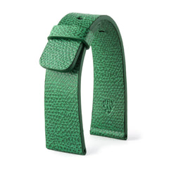 ABP Paris Green Grained Calf Leather Apple Watch Strap