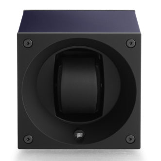 SwissKubik Masterbox Watch Winder in Blue Anodized Aluminium