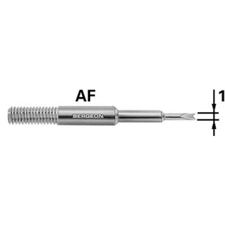 Bergeon 6767-AF Replacement Forked Tip 1mm