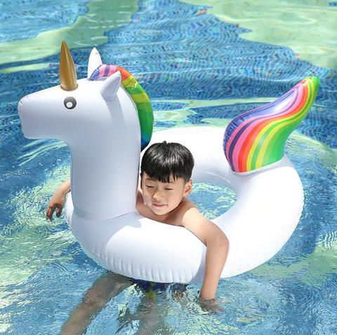 120*90cm Giant Inflatable Unicorn Water Toys 2018 Newst Pool Float For  Adult Children Summer Holiday Beach Party Props Plaything