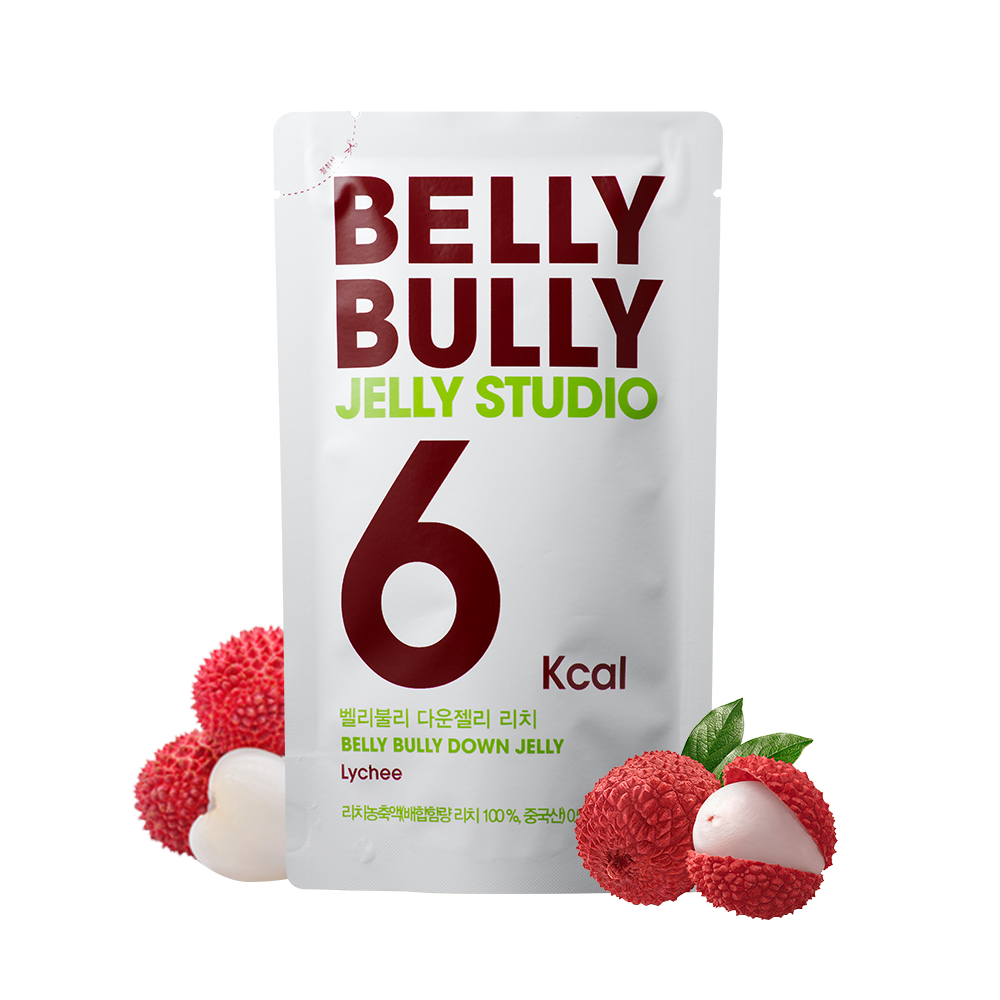 10 Count, Belly Bully Down Jelly-Lychee