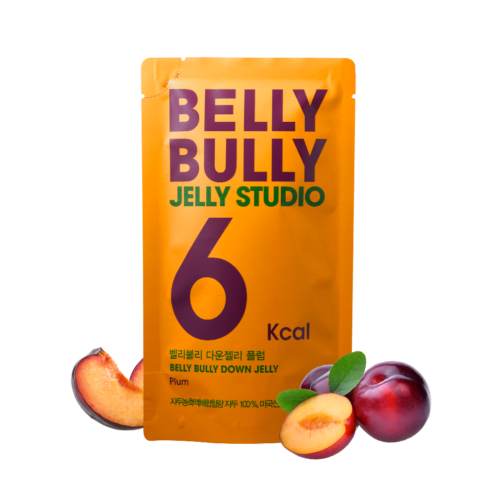 10 Count, Belly Bully Down Jelly-Plum