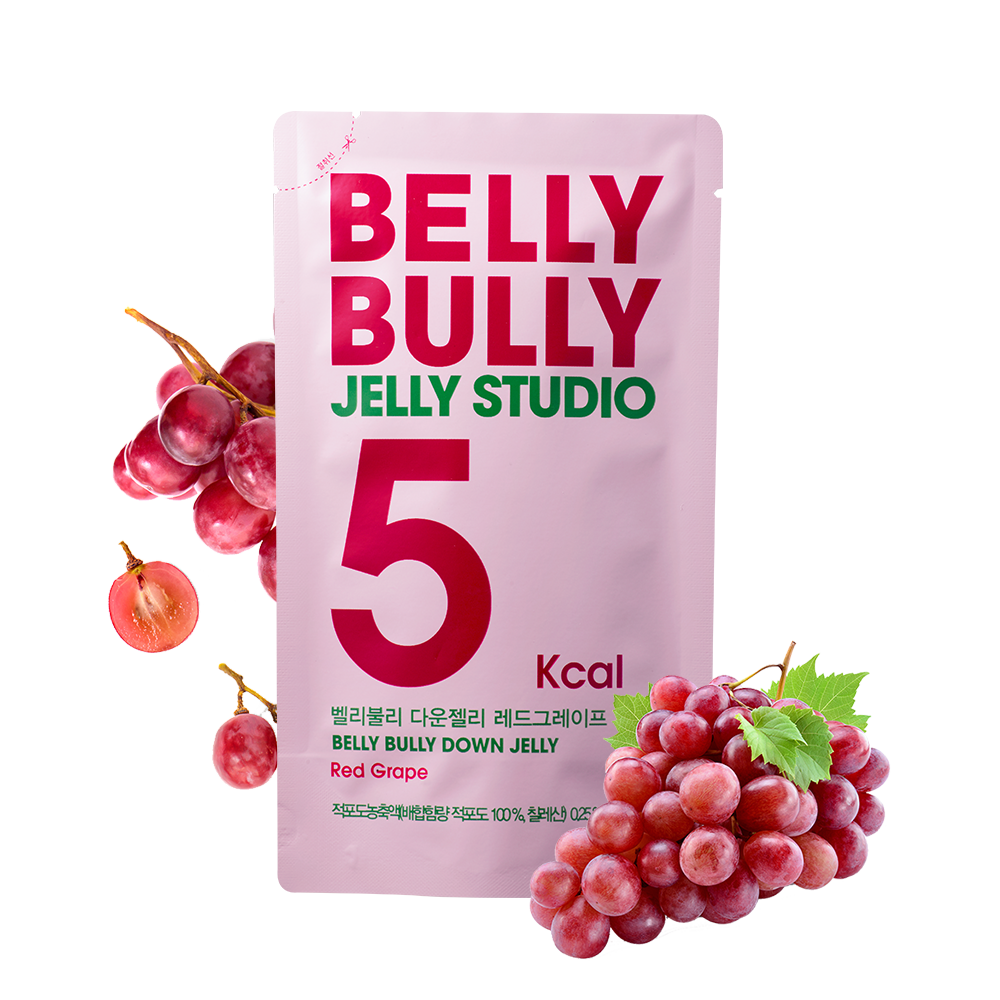 10 Count, Belly Bully Down Jelly-Red Grape
