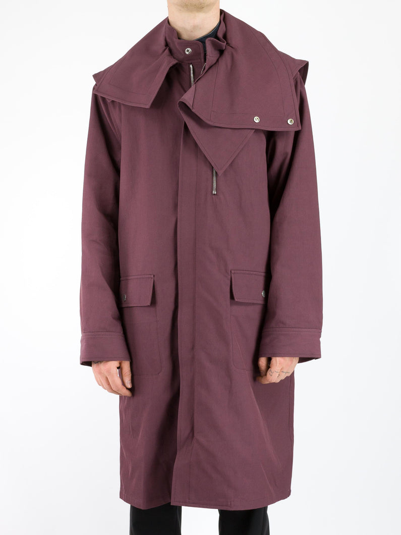 Detachable Collar Parka