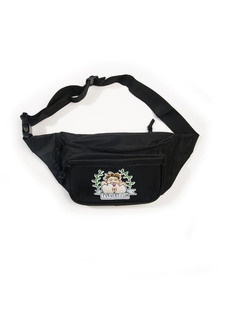Pervert Club Bum Bag Black