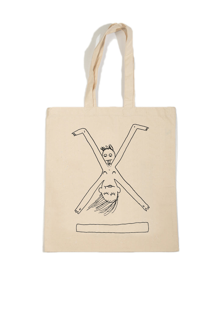 David the Robot X StreetX tote bag