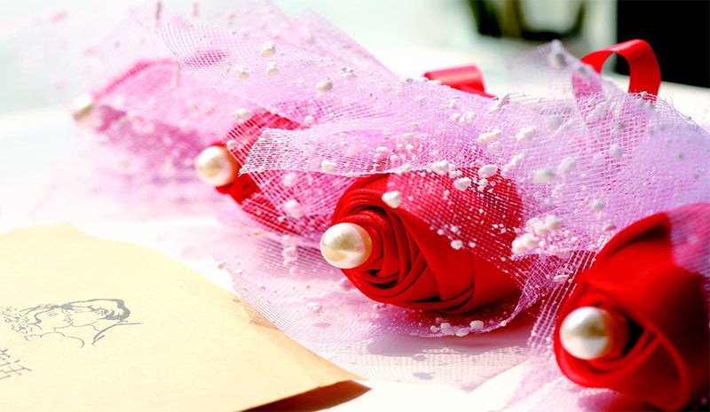 How to make ribbon roses