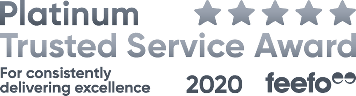 Feefo 2020 Trusted Service Award