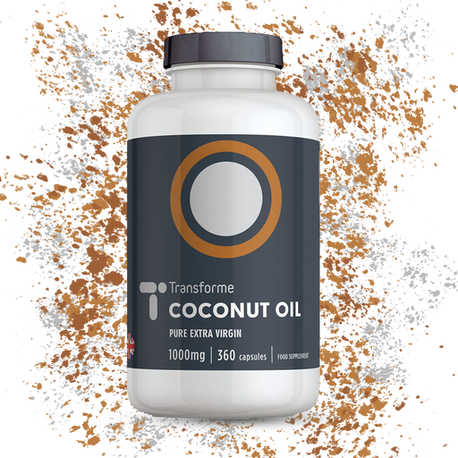 Extra Virgin Cold Pressed Coconut Oil Capsules 1000mg Pure High Strength