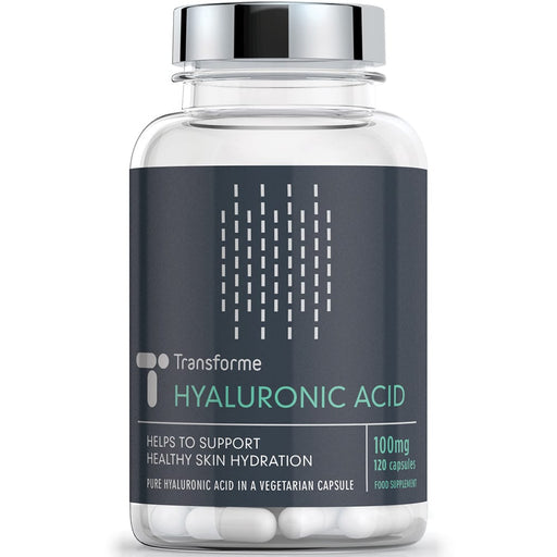 Transforme Hyaluronic Acid Supplement, High Strength 100mg Capsules, All Natural, 120 capsule bottle