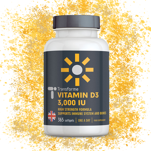 Vitamin D3 3000 iu Cholecalciferol in Olive Oil, Vitamin D Supplements for Bones, Immune System & Teeth