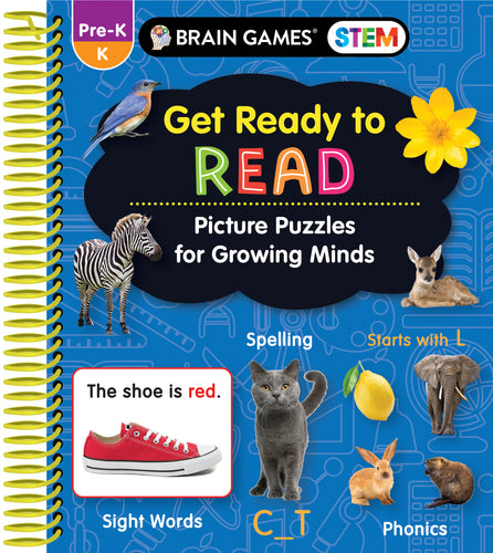 Brain Games STEM Get Ready to Read
