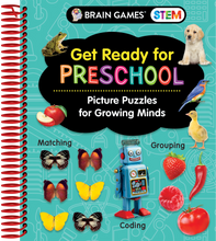 Load image into Gallery viewer, Brain Games STEM Get Ready for Preschool