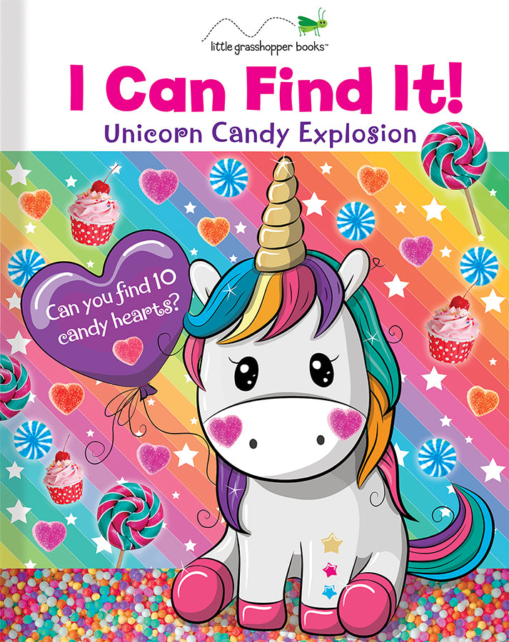 I Can Find It! Unicorn Candy Explosion