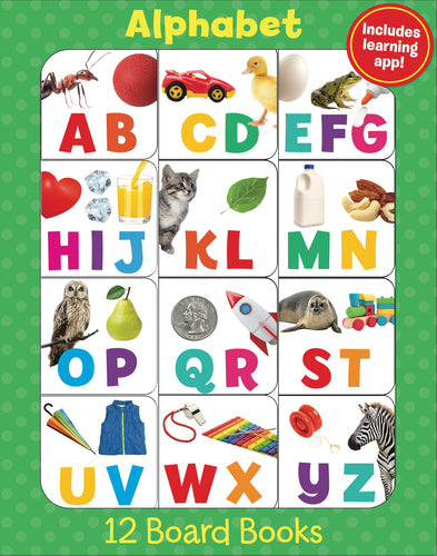 Alphabet: 12-Book Boxed Set