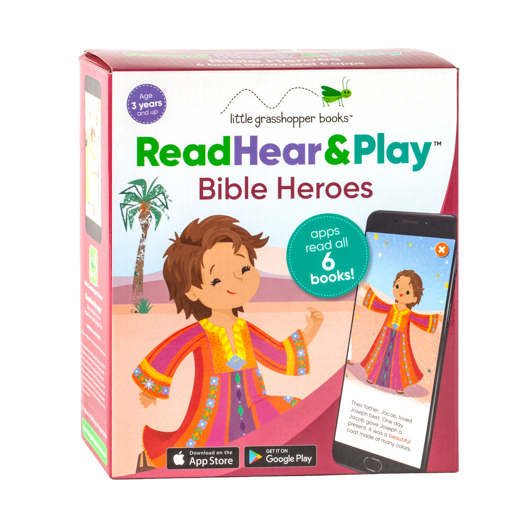 Read Hear & Play: Bible Heroes