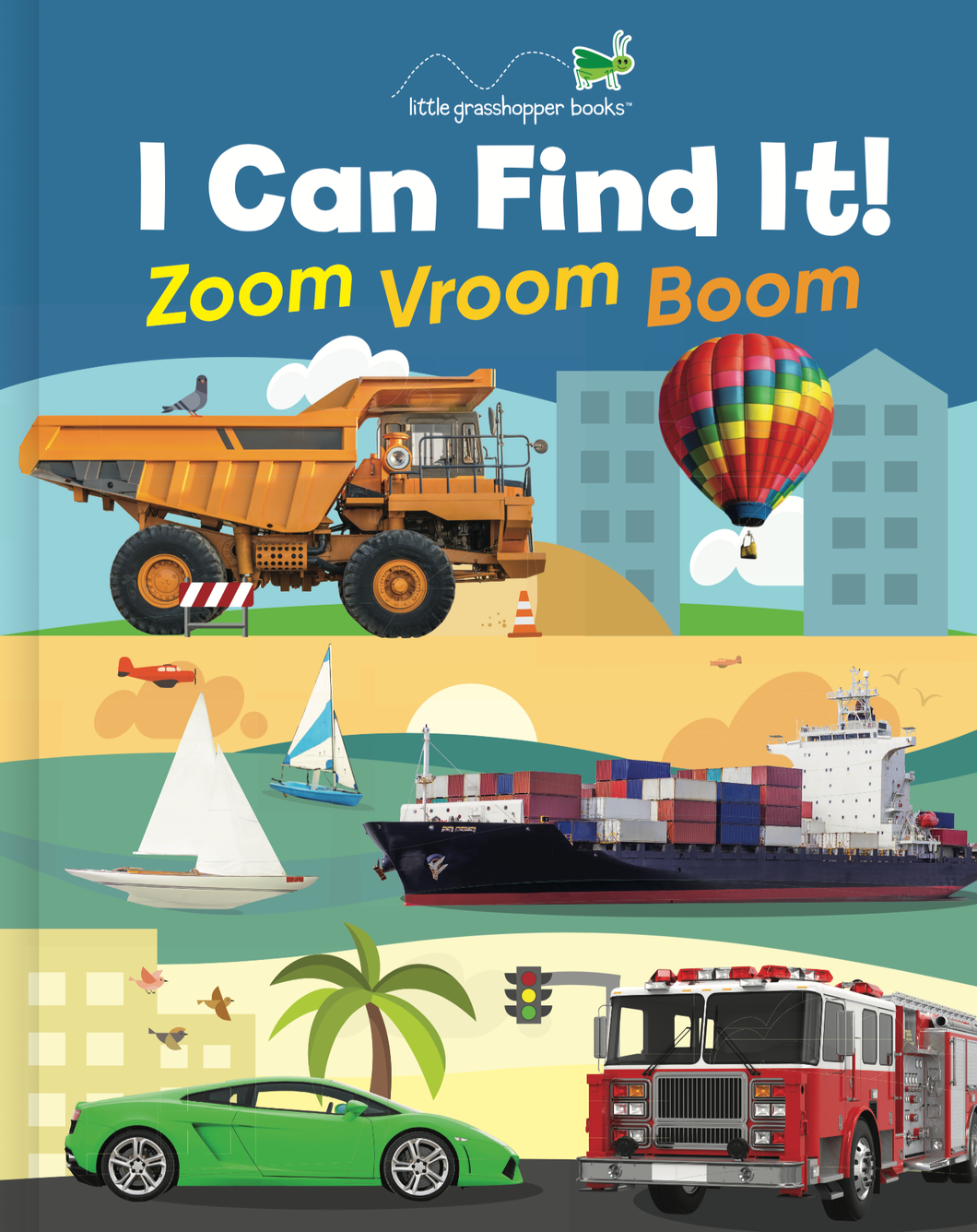 I Can Find It! Zoom Vroom Boom