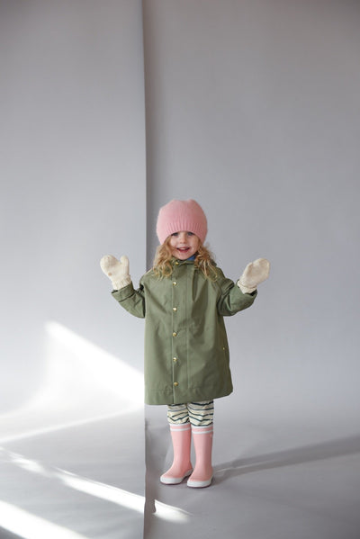 Midi Raincoat - Balsam - Pre-Order Deliver by April 15th