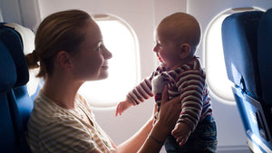 Pacifiers, Infants and Airplanes! Oh My!