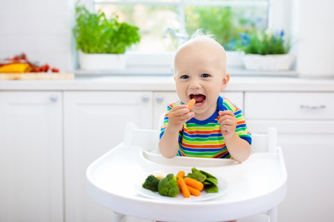 Can Babies Learn To Love Vegetables