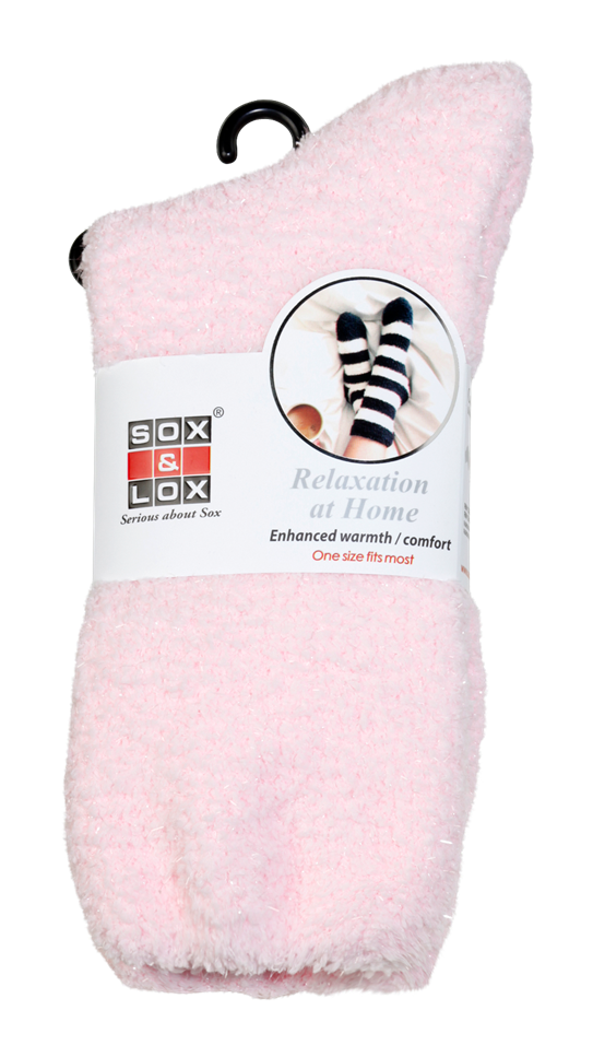 Adults' Bed Socks [Twinkle Plain] SOX&LOX 100% comfortable best socks
