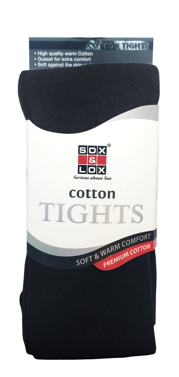 Children's Cotton Tights (4-6Y)