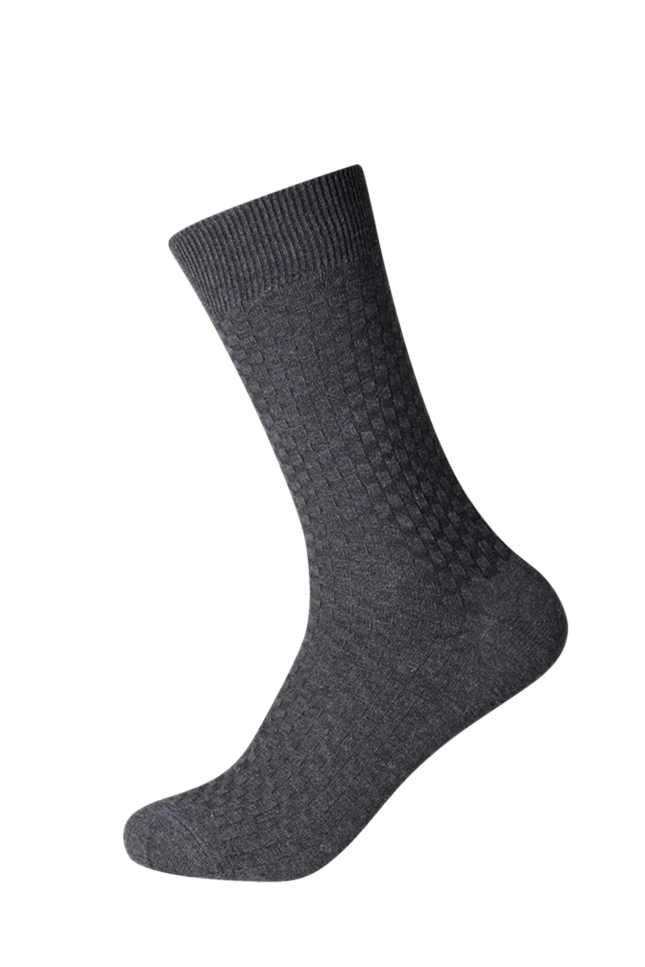Men's everyday classic crew socks ideal for the office