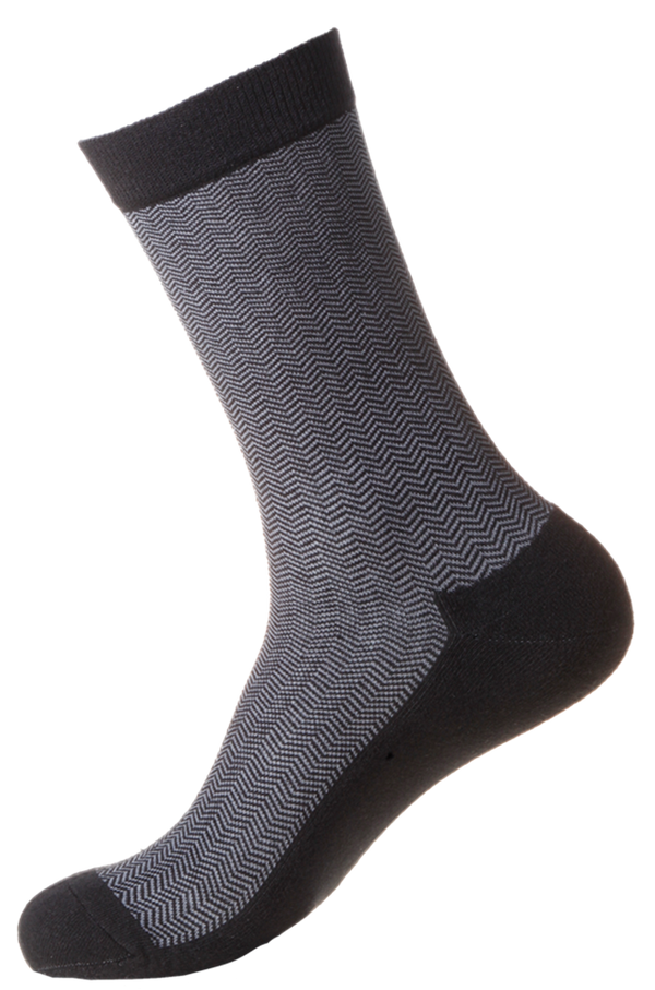 Men's Business Diabetic Friendly [Fine Cushioned] SOX&LOX 100% comfortable best socks