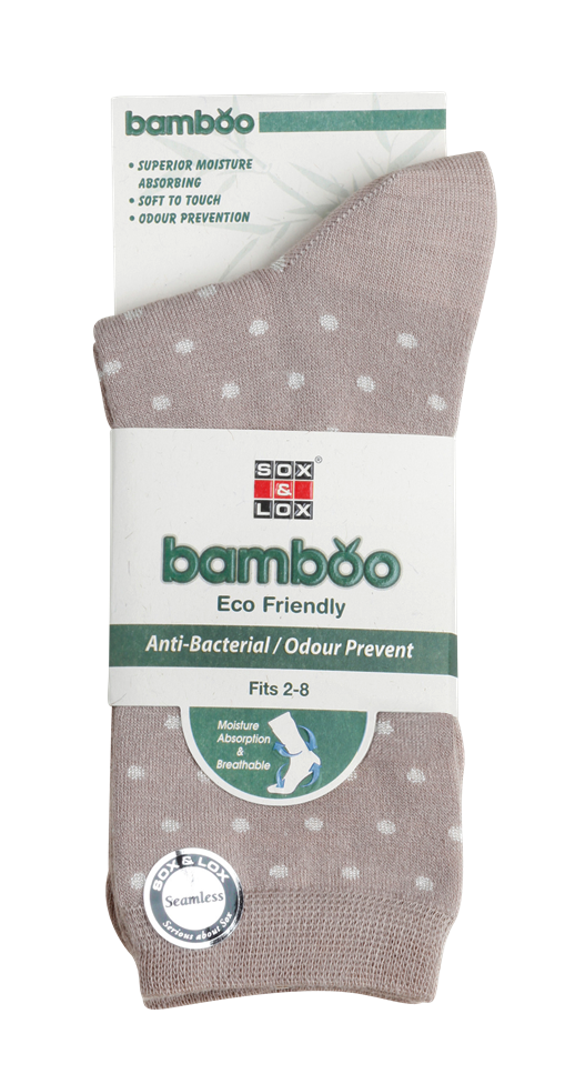 Ladies' Everyday Bamboo [Seamless Toe] SOX&LOX 100% comfortable best socks