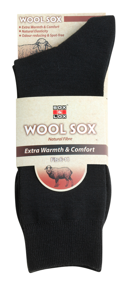 Men's Business [Wool] SOX&LOX 100% comfortable best socks