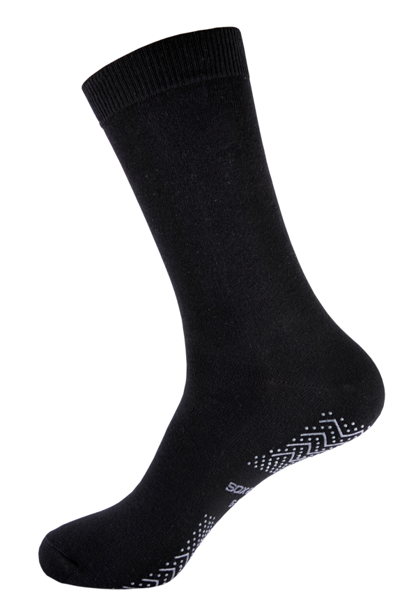 Men's Diabetic Friendly [Anti-Slip Traction] SOX&LOX 100% comfortable best socks