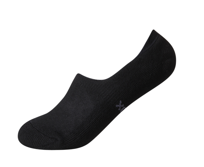 Best No show socks for women with cushioned sole and non-slip heels.