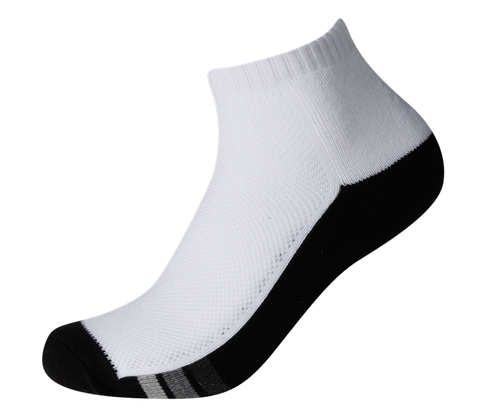 Men's Sports Cushioned Anklet [Ventilation Panel] SOX&LOX 100% comfortable best socks