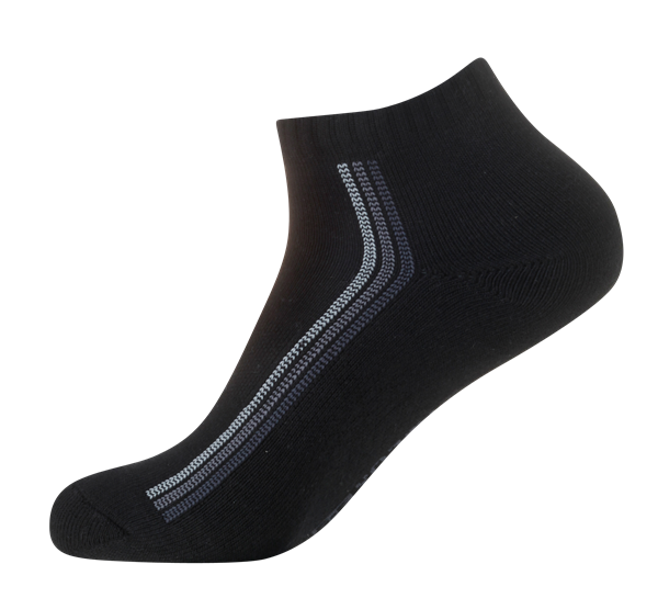 Ladies' Sports Cushioned Anklet [Arch Support] SOX&LOX 100% comfortable best socks