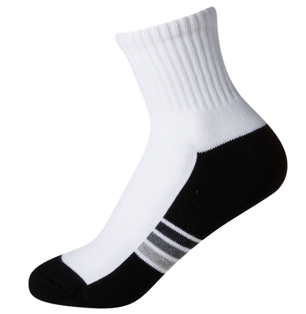 Ladies' Sports Cushioned Midi SOX&LOX 100% comfortable best socks