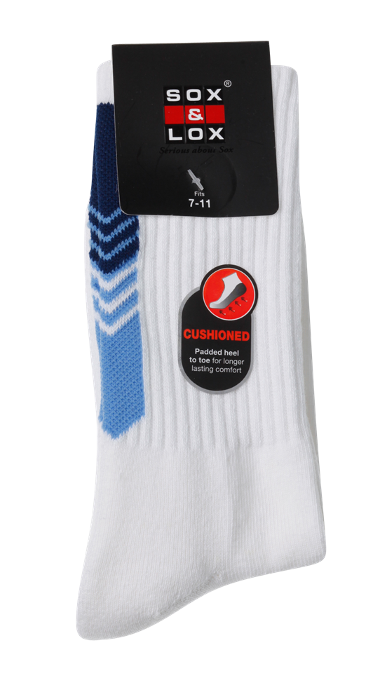 Men's Sports Cushioned Long SOX&LOX 100% comfortable best socks